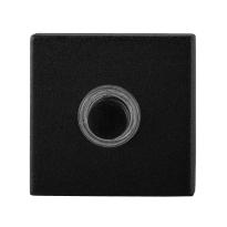 Türklingel GPF8826.02 quadratisch 50x50x8 mm schwarz