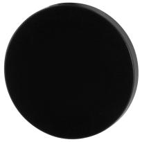 Blindrosette GPF6900VZ 53x6mm schwarz eintönig