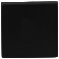 Blindrosette GPF8900.02 50x50x8mm schwarz