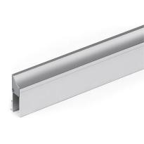 Halteprofil für Türbodendichtung 1000 mm, Aluminium