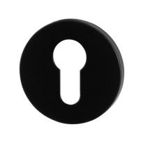 Zylinderrosette GPF6902VZ 53x6mm schwarz eintönig