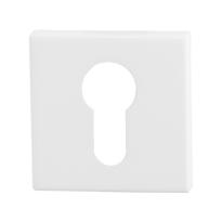 Zylinderrosette GPF8902.42 50x50x8mm weiß