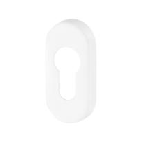 Zylinderrosette GPF8902.44 70x32x10mm weiß