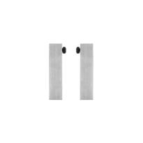 Türstopper Schiebetürensystem GPF0579.09 Edelstahl gebürstet
