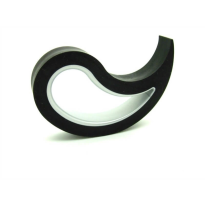 Türstopper Stoppy schwarz, 10x8x2 cm
