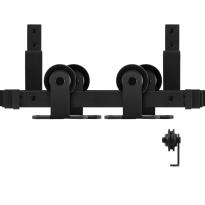 GPF0560.61 Doppel Schiebetürensystem Osa schwarz