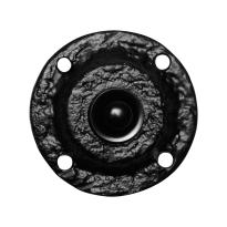 Türklingel KP0751 rund 58 mm Schmiedeeissen schwarz