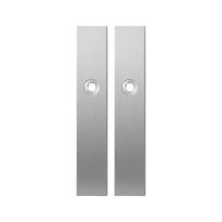 Langes Schild GPF1100.25 blind edelstahl gebürstet
