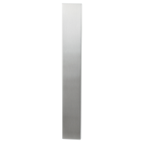Langes Schild XL GPF1200.75 edelstahl gebürstet