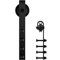 GPF0501.61 separater Schiebetürhänger Raskas schwarz