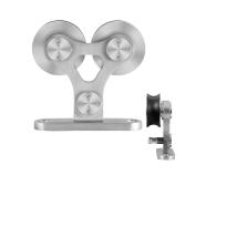 GPF0516.09 separater Schiebetürhänger Twin Edelstahl