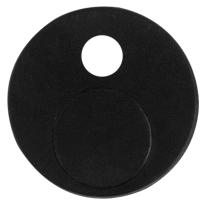 GPF0582.61 Anti-jump schwarz i.A. Schiebetürensystem