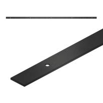 GPF0570.61 Schiebetürschienen 200 cm schwarz