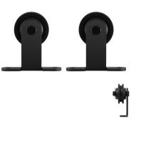 GPF0510.61 Schiebetürhänger Set Osa schwarz i.A. zusätzliche Tür