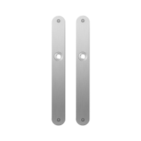 Platte Schild GPF1100.23 edelstahl gebürstet