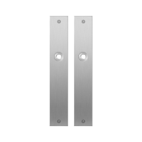 Platte Schild GPF1100.27 edelstahl gebürstet