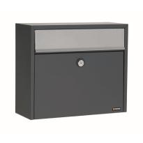 Briefkasten anthrazit, 330x390x150 mm