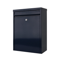 Mailbox blau, 470x340x170 mm