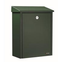 Briefkasten grün, 390x280x150 mm
