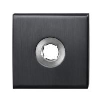Rosette GPF1100.02P1 50x50x8mm PVD Anthrazit