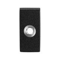 Rosette GPF8100.01 70x32x10mm schwarz