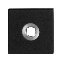 Rosette GPF8100.02 50x50x8mm schwarz