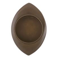 Schiebetürmuschel Antik Bronze 368T