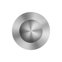 Schiebetürmuschel Edelstahl gebürstet GPF0710.09