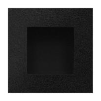 Schiebetürmuschel Schwarz GPF8714.61F