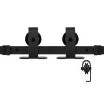 GPF0508.61 Schiebetürsystem Mutka schwarz 170 cm