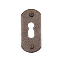 Schlüsselrosette FB708 stretta 33x65mm Rost