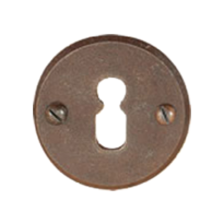 Schlüsselrosette FB711 tonda 50mm Rost