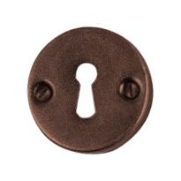 Schlüsselrosette FB734 tonda scatolata 50mm Rost