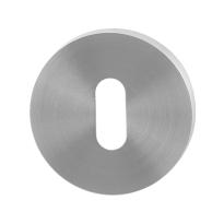 Schlüsselrosette GPF0901.00 50x8mm Edelstahl gebürstet