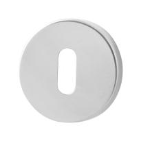 Schlüsselrosette GPF0901.40 50x8mm Edelstahl poliert