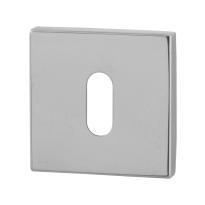 Schlüsselrosette GPF0901.42 50x50x8mm Edelstahl poliert