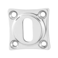Schlüsselrosette GPF0901.49 38x38x5mm Edelstahl poliert