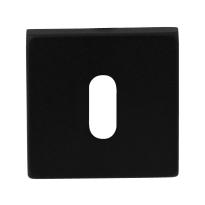 Schlüsselrosette GPF8901.02 50x50x8mm schwarz