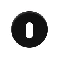 Schlüsselrosette GPF8901.05 50x6mm schwarz