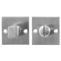 Toilettengarnituren GPF0904.08 50x50x2mm Toilettenstift 5mm Edelstahl gebürstet