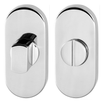 Toilettengarnituren GPF0904.44 70x32mm Toilettenstift 5mm Edelstahl poliert