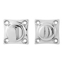 Toilettengarnituren GPF0904.49 38x38x5mm Toilettenstift 5mm Edelstahl poliert