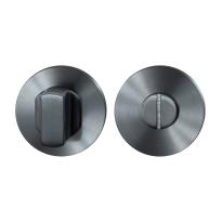 Toilettengarnituren GPF0910.00P1 50x8mm Toilettenstift 8mm PVD Anthrazit Großer Knopf