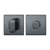 Toilettengarnituren GPF0910.02P1 50x50x8mm Toilettenstift 8mm PVD Anthrazit Großer Knopf