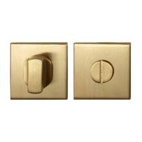 Toilettengarnituren GPF0910.02P4 50x50x8mm Toilettenstift 8mm PVD Satin Messing Großer Knopf