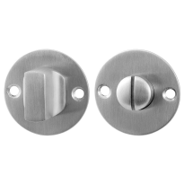 Toilettengarnituren GPF0910.06 50x2mm Toilettenstift 8mm Edelstahl gebürstet Großer Knopf