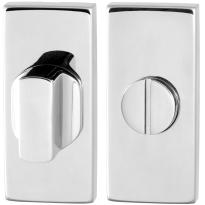 Toilettengarnituren GPF0910.41 70x32mm Toilettenstift 8mm Edelstahl poliert Großer Knopf