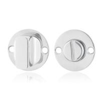 Toilettengarnituren GPF0910.47 38x2mm Toilettenstift 8mm Edelstahl poliert Großer Knopf