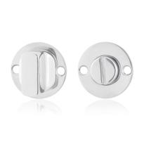 Toilettengarnituren GPF0911.47 38x2mm Toilettenstift 5mm Edelstahl poliert Großer Knopf