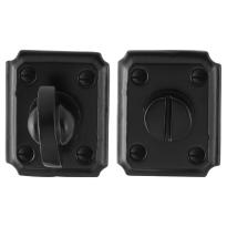 Toilettengarnituren GPF6910.02 59x48x6mm Toilettenstift 8mm Schmiedeeisen schwarz